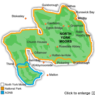 north-york-moors Map
